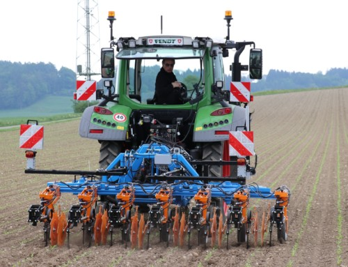 Saving pesticides with precision farming technologies