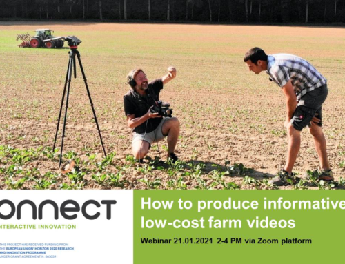 i2connect seminar on how to produce your farm video