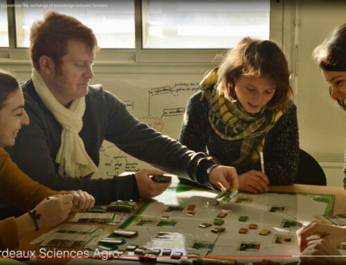 Promoting knowledge exchange among farmers by playing games