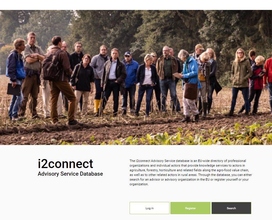 i2connect Advisory Service Database