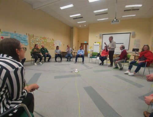 Enthusiastic 3rd Train-The-Trainer course in Dublin